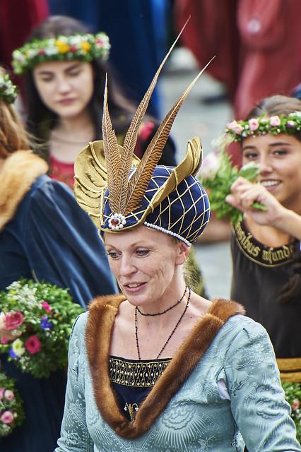 Landshuter Hochzeit 2017 - Adelige Dame 1