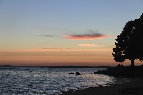 morbihan golfedumorbihan séné sunset bretagne seascape sea
