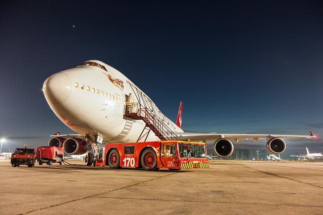 Boeing B747-400 - Virgin Atlantic