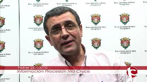 ElCristo - Videos - Intercomarcal TV - (2010-03-26) - Entrevista I Vía Crucis nocturno