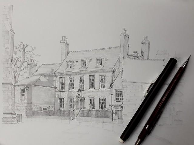 Houses near York Minster