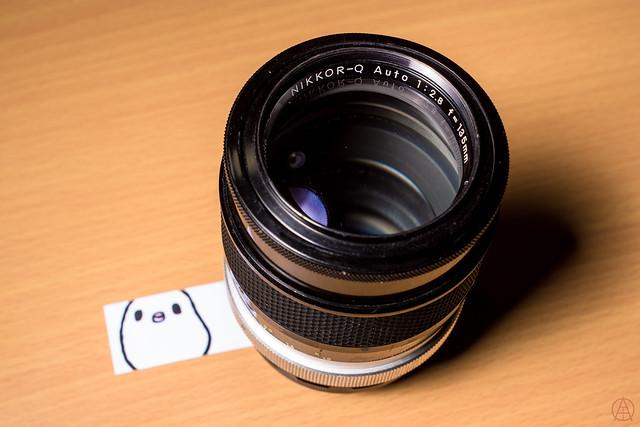 Nikon Nikkor-Q Auto 135mm f2.8 // Nikon Nikkor-S Auto 35mm 1:2.8