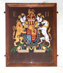 Elizabeth II royal arms 1966