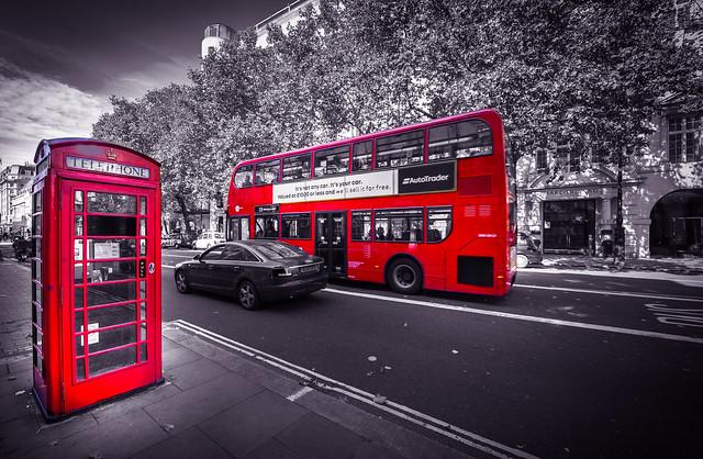 Snapshot on Strand Street in London - England