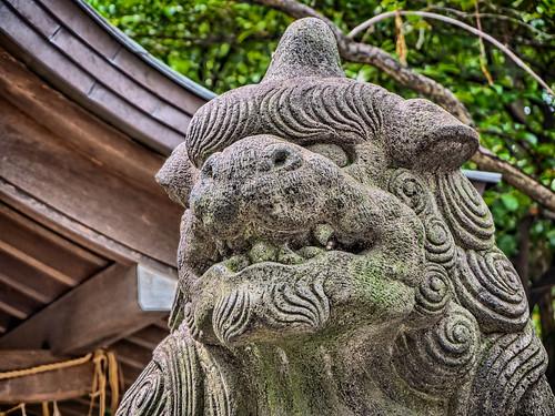 牛天神北野神社で V
