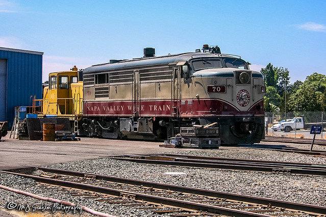 NVRR 70 | MLW FPA4 | Napa Valley Railroad