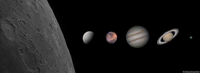 My Solar System photos from 2014/2015