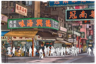 Hong Kong.... | by Hat's ART'ery