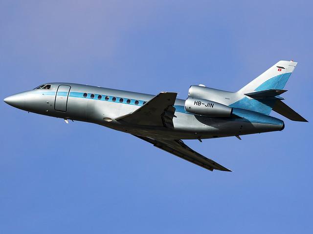 Jet Aviation Business Jets AG | Dassault Falcon 900EX | HB-JIN