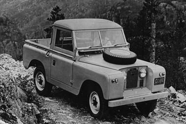Land Rover Serie II PickUp – 1958