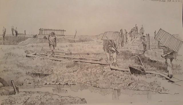 Pilckem Ridge, Passchendaele, 1917