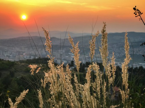 summer bosnaihercegovina iphone7plus sunset landscape trebević 2017avgust sarajevo