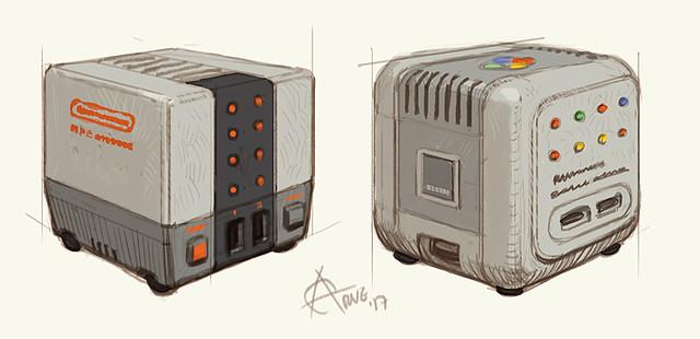 S/NES cube