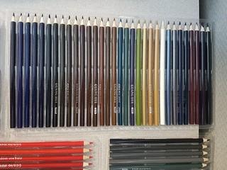 Guang Hui 160 Colored Pencils Set by Wanshui Arts - Tray 5 ...