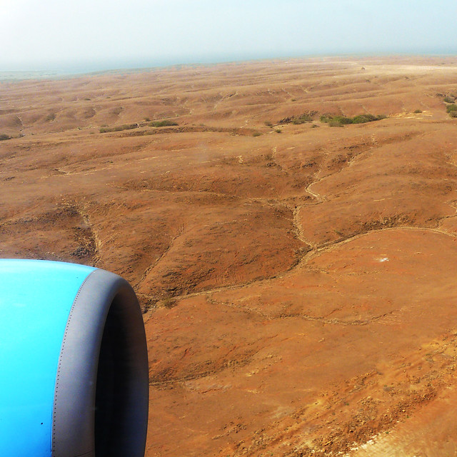 Cape Verde - Landing on the little island of Sal.