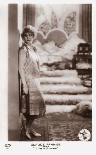Claude France in L'île d'amour (1929)