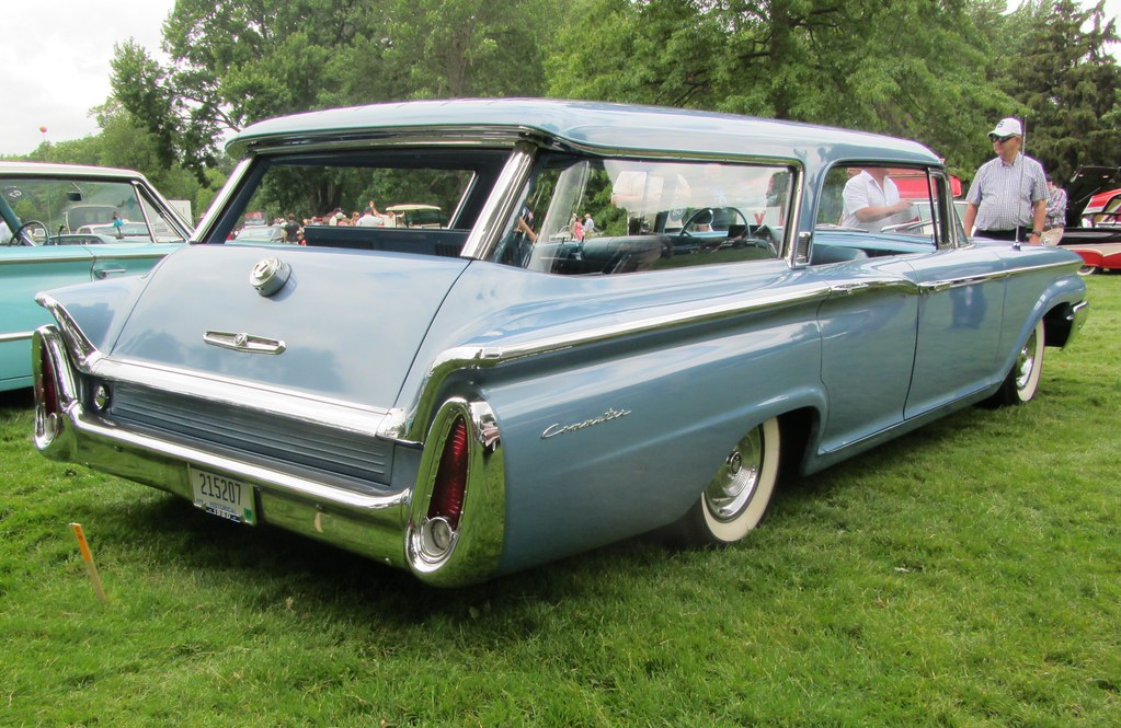 1960 Mercury Commuter Eyes On Design Invitational Show At Flickr