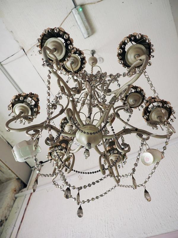 shabby-chic chandelier