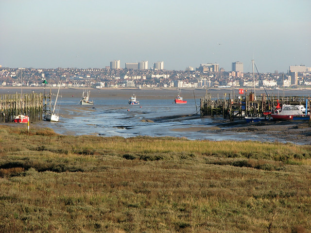 Southend from Canvey Island