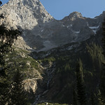 Ridgeline in Cascade Canyon