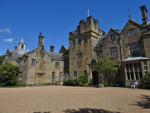 The House at Scotney Castle near Cranbrook in Kent, UK - August 2017