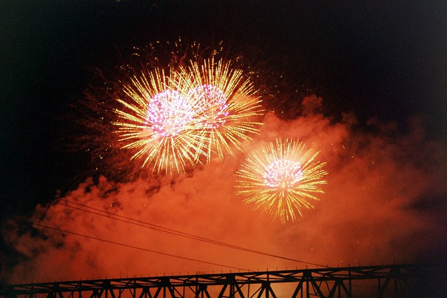 Fireworks @ Cincinnati at Labor Day