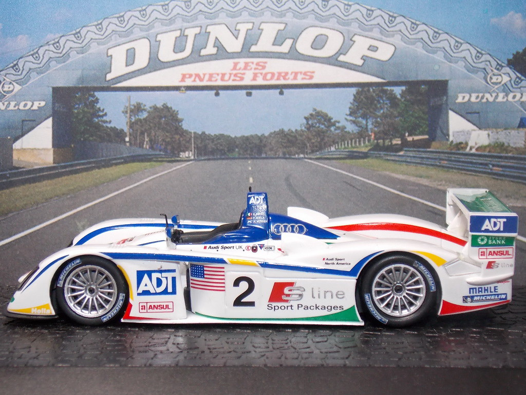 Audi R8 LMP – 24 Hs Le Mans 2005