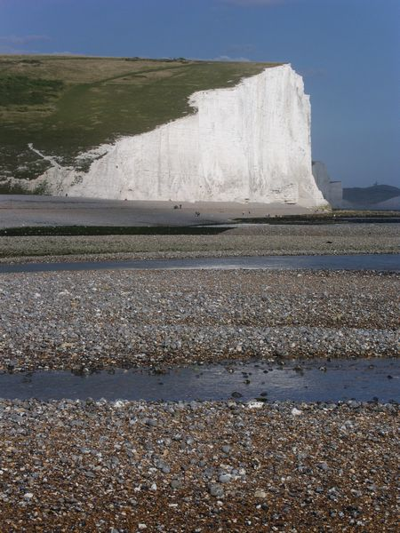Cuckmere Haven at low tide