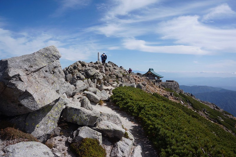 Mountain-climbing path to The Mt, HAKUSAN OIKEMEGURI course