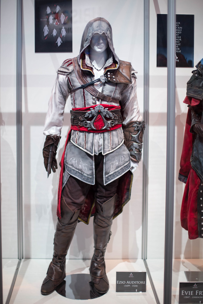 Ezio Auditore Cosplay Von Assassin S Creed Marco Verch