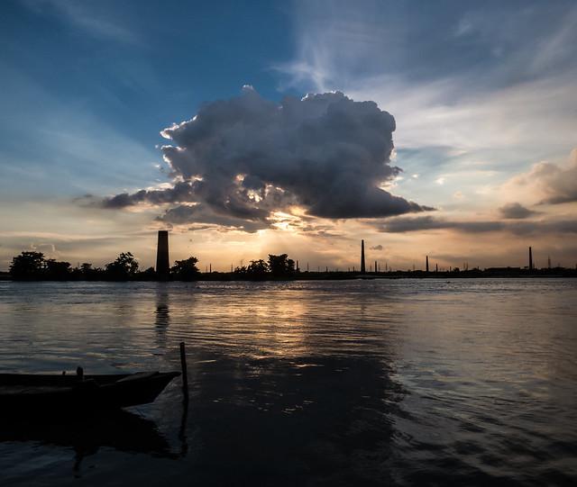 Sunset at The Buriganga River