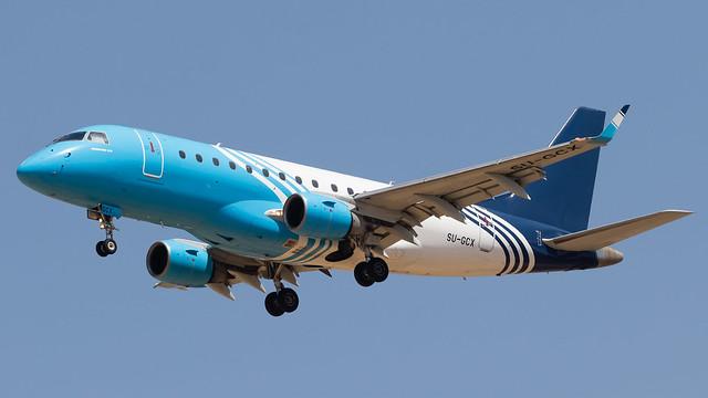TLV - Air Sinai Embraer 170 SU-GCX