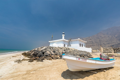 Beach view, Musandam, Oman | by Robert Haandrikman