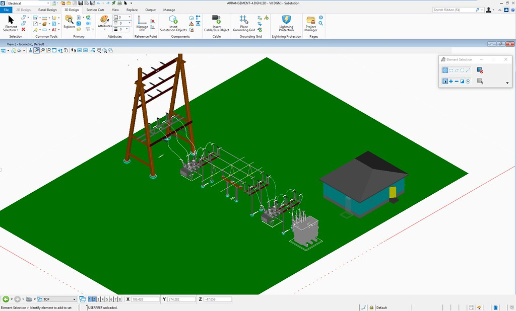 Connect Edition Of Bentley Substation Improves Electrical Design Through Workflow Updates And Collaborative Engineering