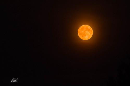 smoke moonlight moon 2017 lacey washington unitedstates us