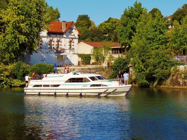 Cognac-Region of South West France @ August 2017