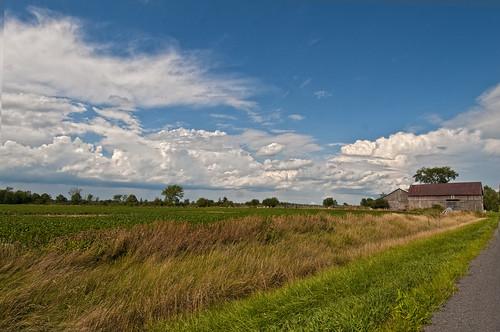 landscape clouds sky sunny summer roadtrip