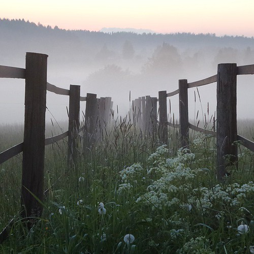 sunset field fog fence suomi finland square countryside finnland foggy squareformat finlandia フィンランド finlande finlândia finnország finlanda finlàndia финляндия finnlando iphoneography instagramapp uploaded:by=instagram