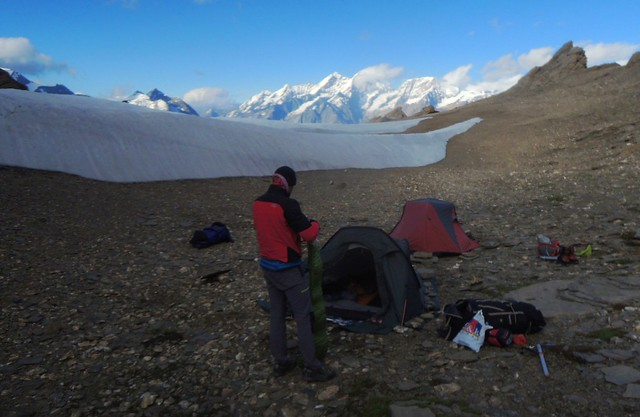 Base camp about 2900m by bryandkeith on flickr