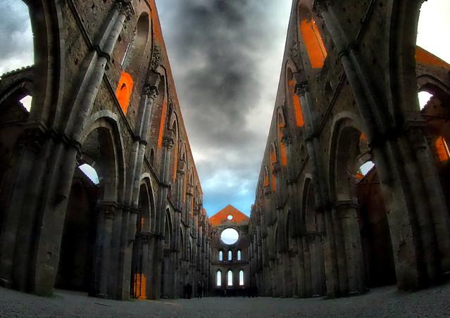 Abbazia di San Galgano (Si) - Toscana