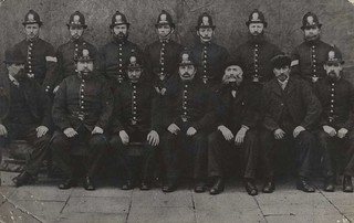 Hull City Police uniformed officers 1875 (archive ref POL-4-10-2-1) | by East Riding Archives