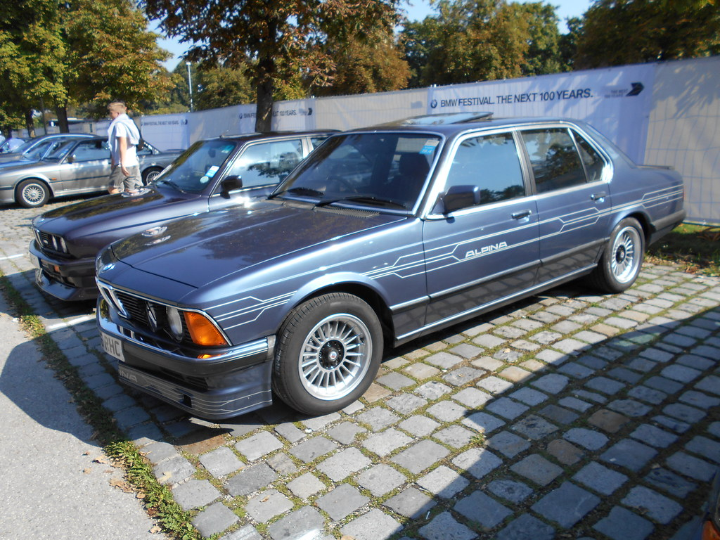 BMW 7 Series E23 - a photo on Flickriver