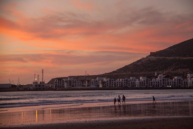 Beach  sunset (1 of 1)