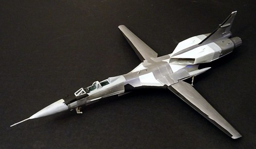 "1:72 Mikoyan-Gurewitsch Izdeliye 71.2 ""жура́вль"" (Crane); 2nd prototype at Savasleyka Air Base, 1995 (Whif/kit-bashing) - WiP | by dizzyfugu"