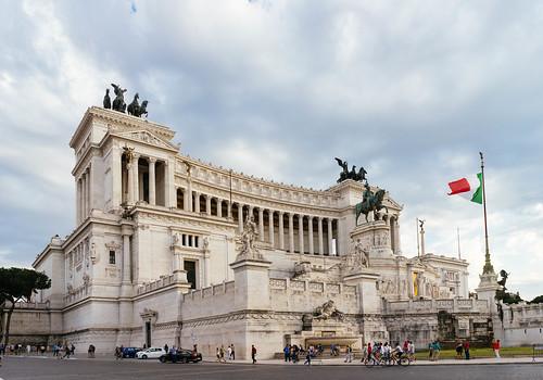 Italian Parliament Building / Italienisches Parlamentsgebäude | by wuestenigel