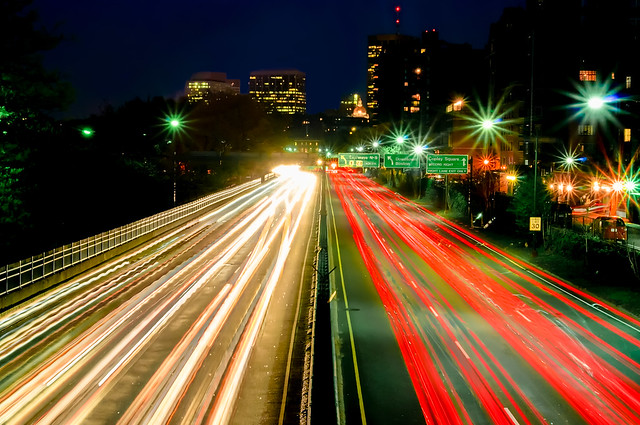 Storrow Drive at Night