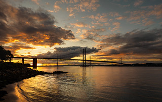 Queensferry sunset | by Alf Branch