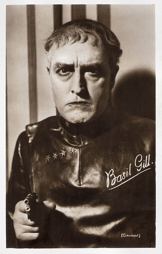 Basil Gill in High Treason (1929)