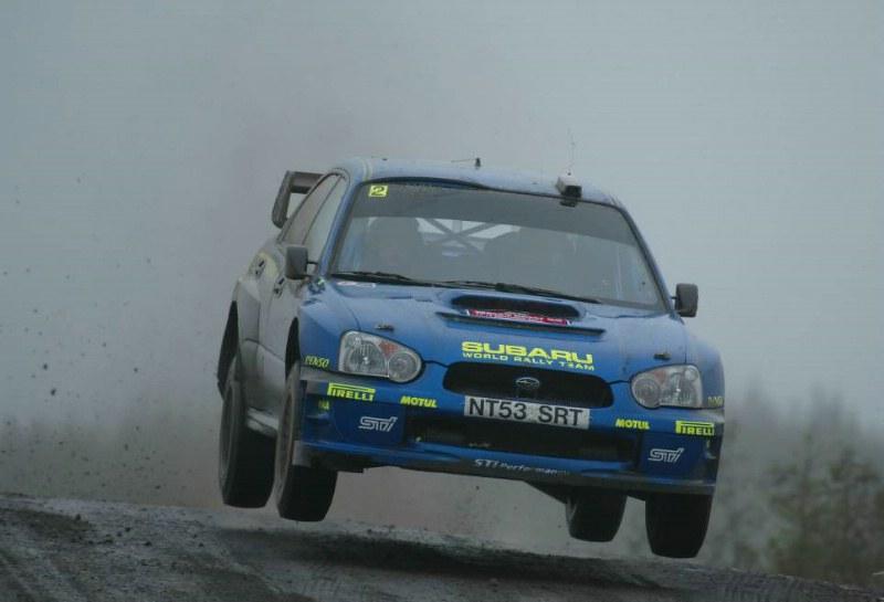 Subaru Impreza WRC – Rally Gran Bretaña 2004