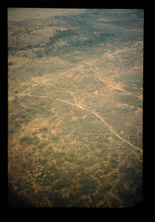 Aerial View Of Tropical Steppe = サバンナの景観
